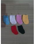 sokjes met hiel   div. kleuren