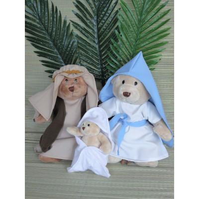 """""""Decemberfeesten"""" 6 OF 7 dlg Jozef, Maria en Jezus-setje"""