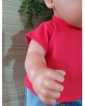 T shirt korte mouwen rood V387