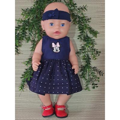 jurkje Minnie blauw V386