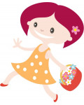 Baby/kleuterpopjes girl 20cm