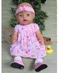 Babyborn girl  43 cm